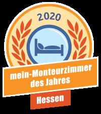 Landessieger Hessen - mein-Monteurzimmer des Jahres 2020